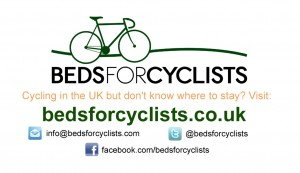 beds for cyclists advertisement
