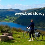 Beds for cyclists banner