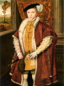 Edward VI 224x300 Who were the Tudors?