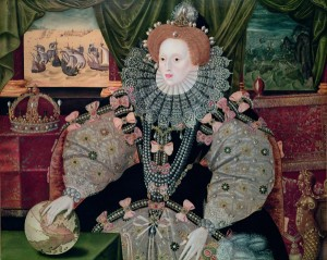 Elizabeth I Armada 300x239 Who were the Tudors?