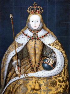Elizabeth I Coronation 223x300 Who were the Tudors?