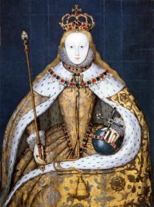 Elizabeth I Coronation 223x300 Who were the Tudors?
