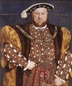Henry VIII Holbein 251x300 Who were the Tudors?