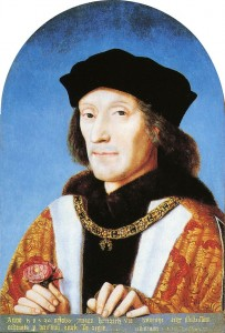 Henry VII Tudor Rose 203x300 Who were the Tudors?