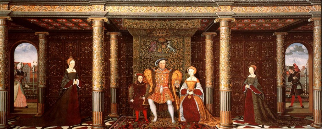 The Tudor Family 1024x412 Hampton Court